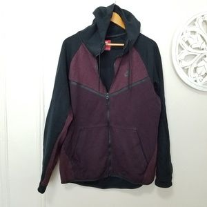 Nike tech size XL zip up sweater